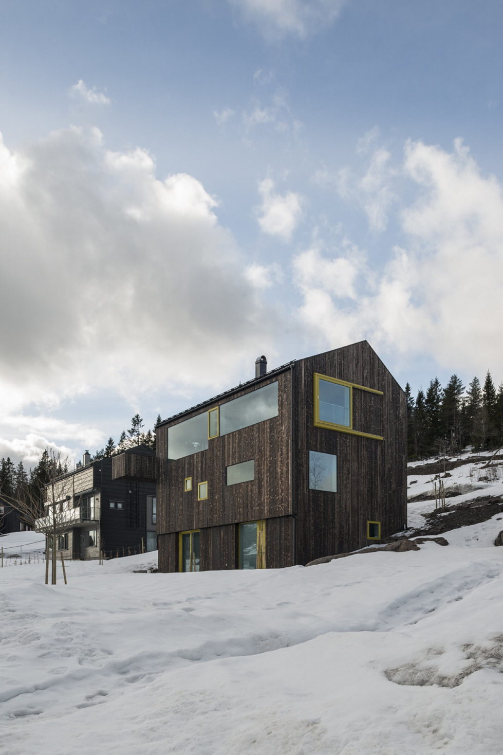 The house Linnebo overlooking Oslo by the project of Schjelderup Trondahl Arkitekter studio 2