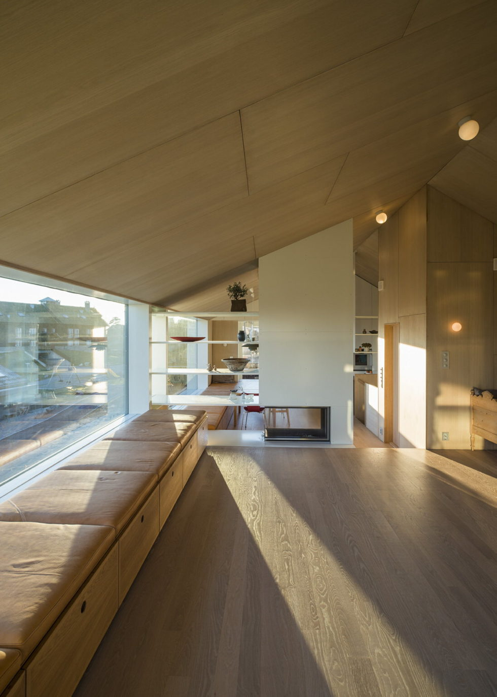 The house Linnebo overlooking Oslo by the project of Schjelderup Trondahl Arkitekter studio 8