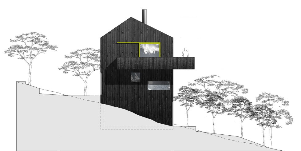 The house Linnebo overlooking Oslo by the project of Schjelderup Trondahl Arkitekter studio - Plan 3