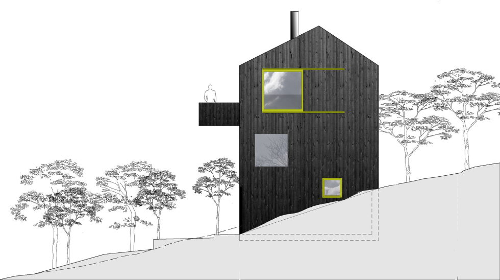 The house Linnebo overlooking Oslo by the project of Schjelderup Trondahl Arkitekter studio - Plan 4
