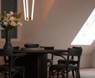 The mansard apartment in loft style in Vienna from Bernd Gruber studio