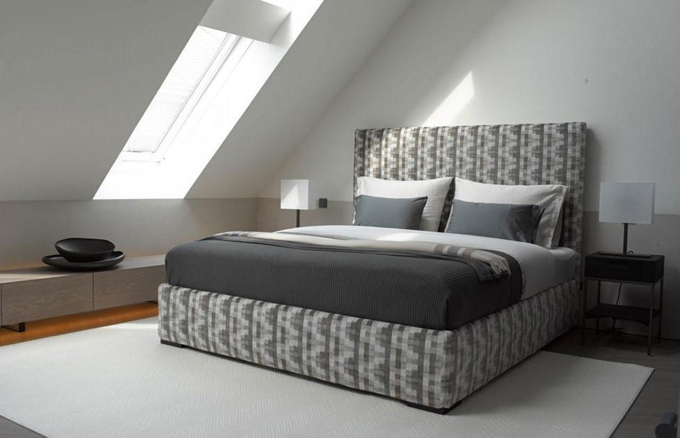 The mansard apartment in loft style in Vienna from Bernd Gruber studio 13
