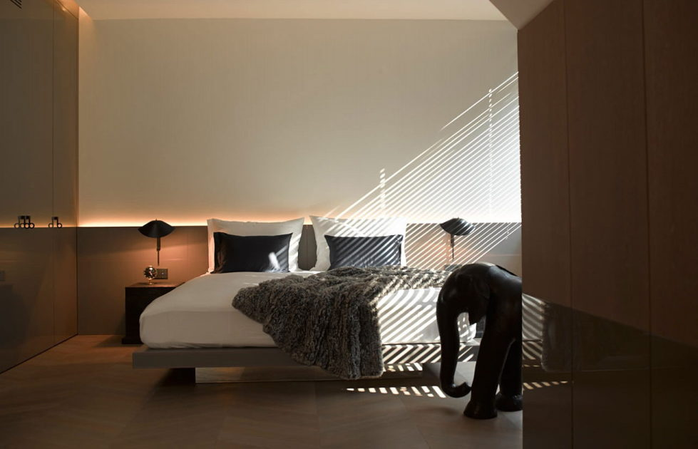 The mansard apartment in loft style in Vienna from Bernd Gruber studio 14