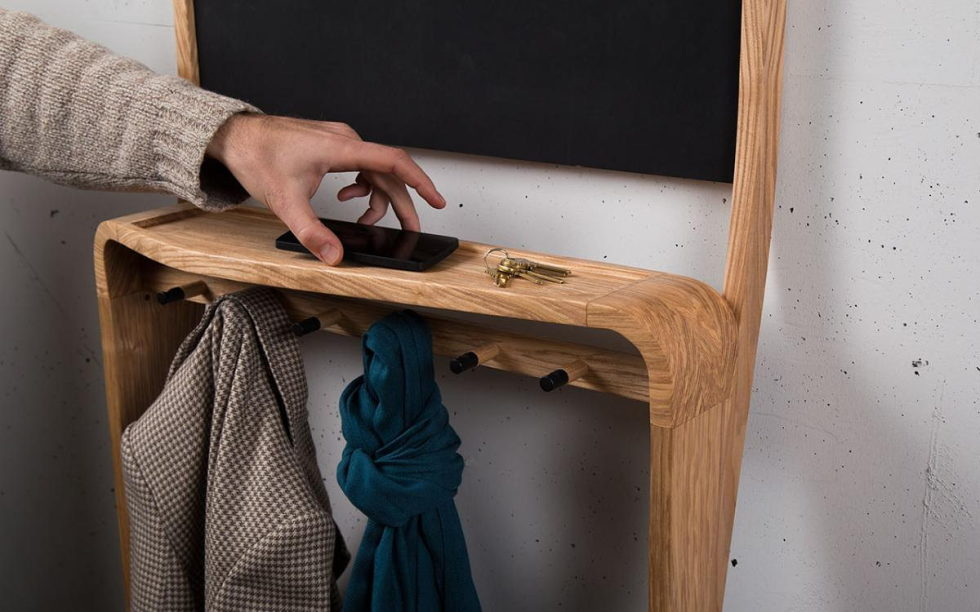 The organizer Leaning Loop for clothes, shoes and small things 7