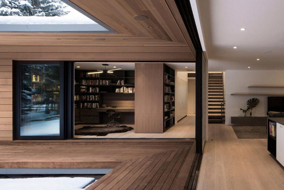 The private house Hilsden in Scandinavian style in Salt Lake City from Lloyd Architects studio 15