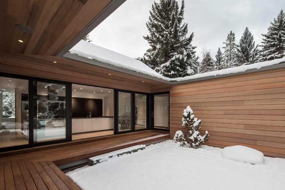 The private house Hilsden in Scandinavian style in Salt Lake City from Lloyd Architects studio 16