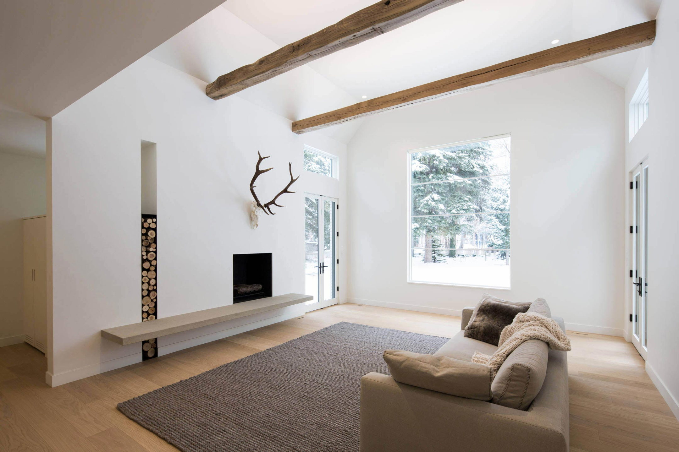 The Private House Hillsden In Scandinavian Style In Salt Lake City From  Lloyd Architects Studio