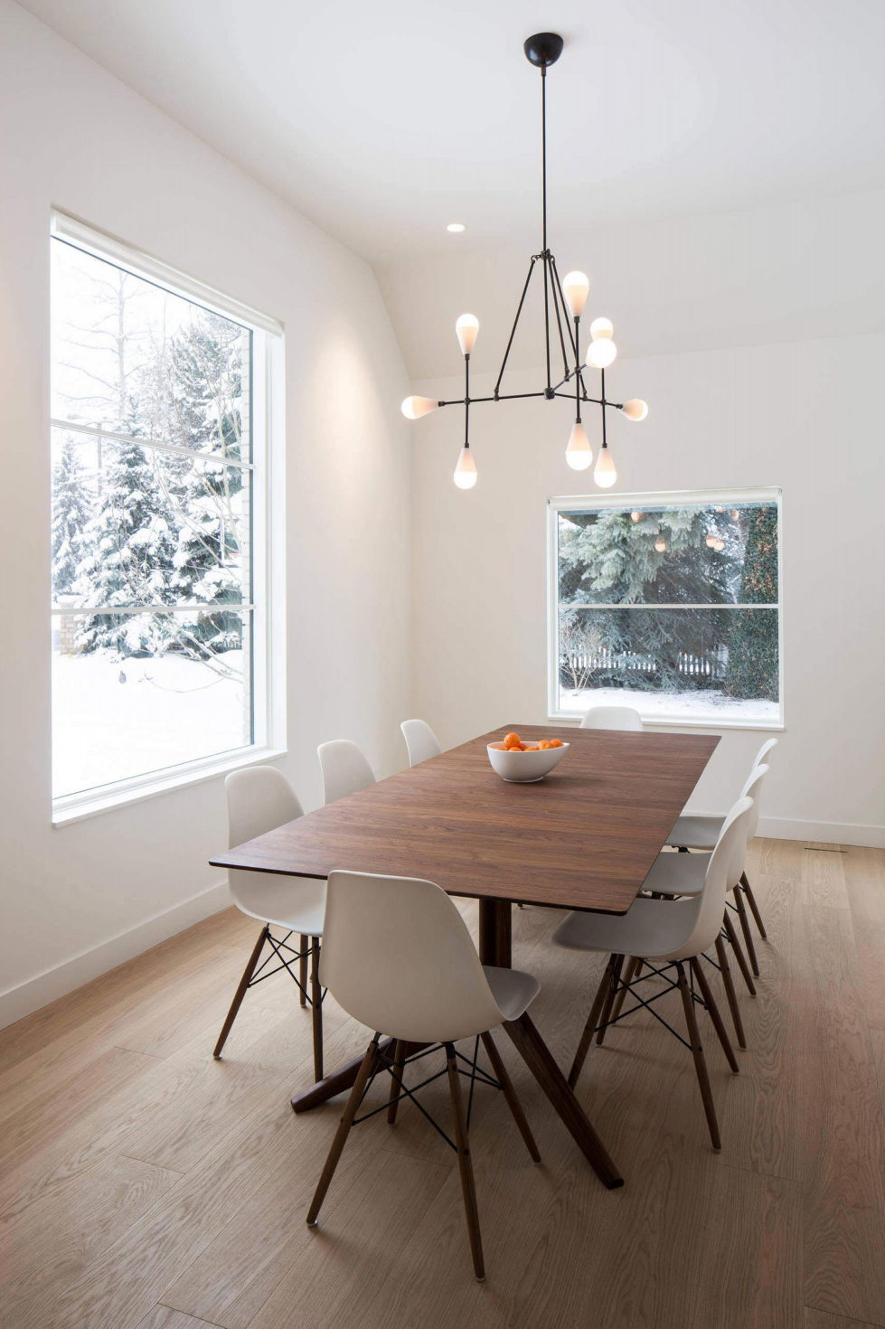 The private house Hilsden in Scandinavian style in Salt Lake City from Lloyd Architects studio 4