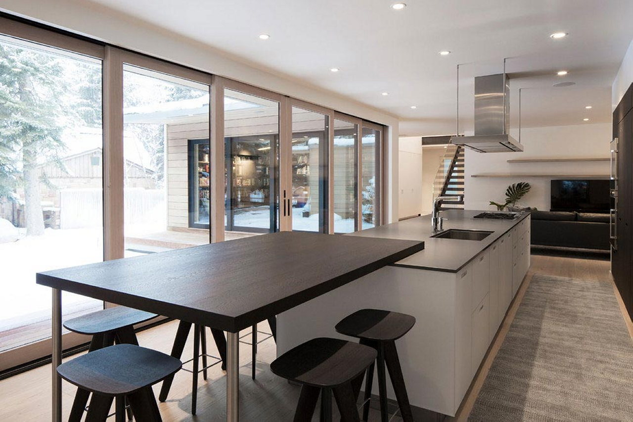 The Private House Hilen In Scandinavian Style Salt Lake City From Lloyd Architects Studio