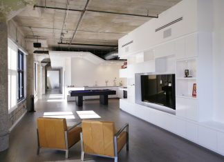 Twin Loft Apartment In Los Angeles Upon The Project Of CHA:COL Studio
