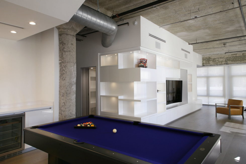 Twin Loft Apartment In Los Angeles Upon The Project Of CHACOL Studio 5