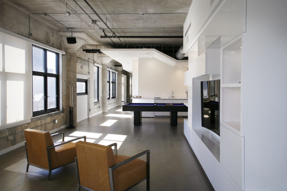 Twin Loft Apartment In Los Angeles Upon The Project Of CHACOL Studio 6