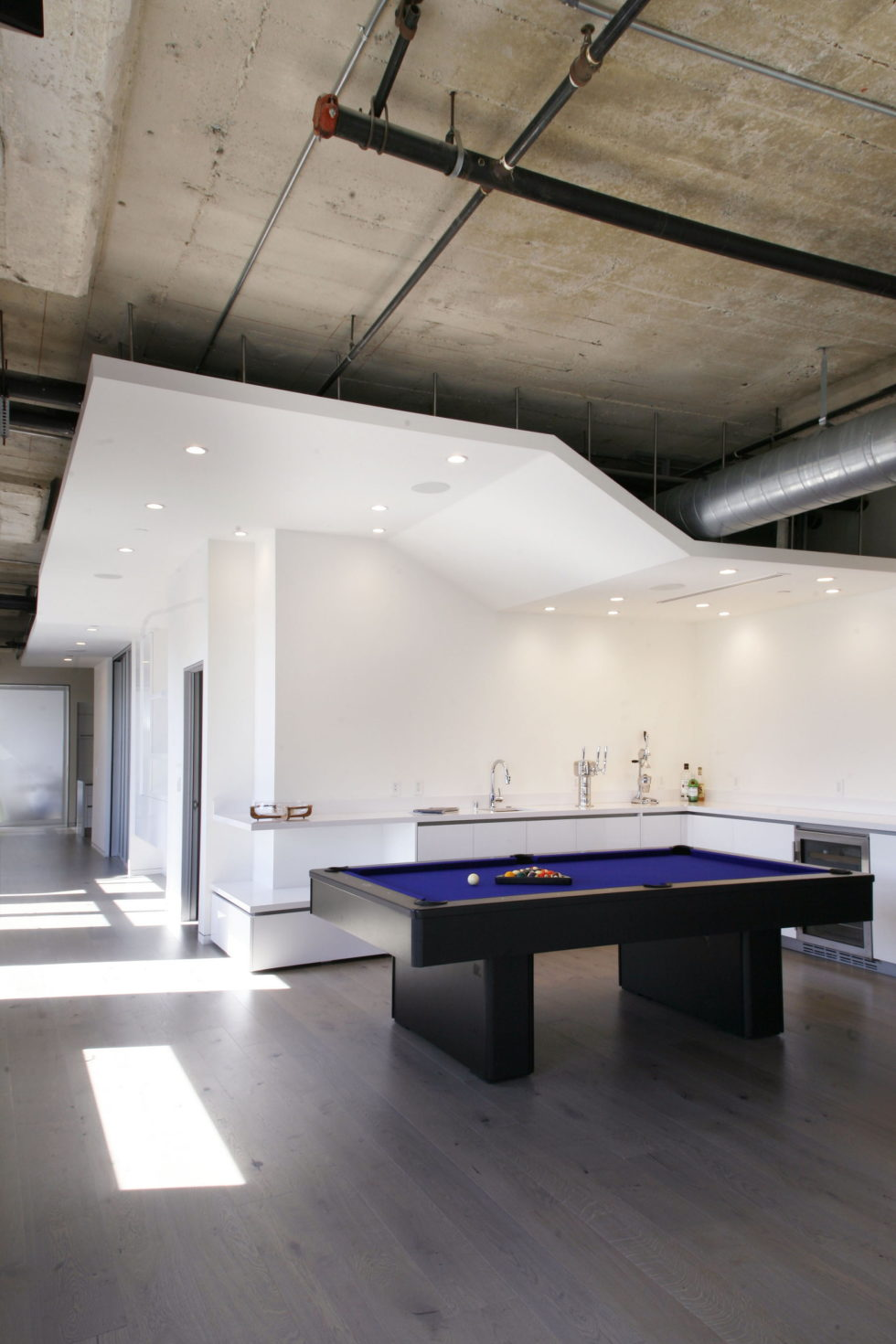 Twin Loft Apartment In Los Angeles Upon The Project Of CHACOL Studio 7