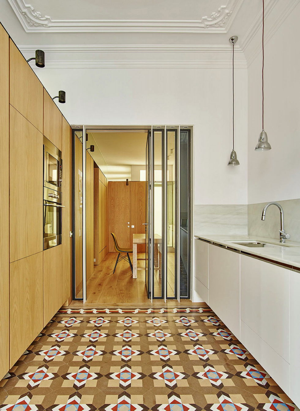 AB House 19th-century Barcelona apartment by Built Architecture 10