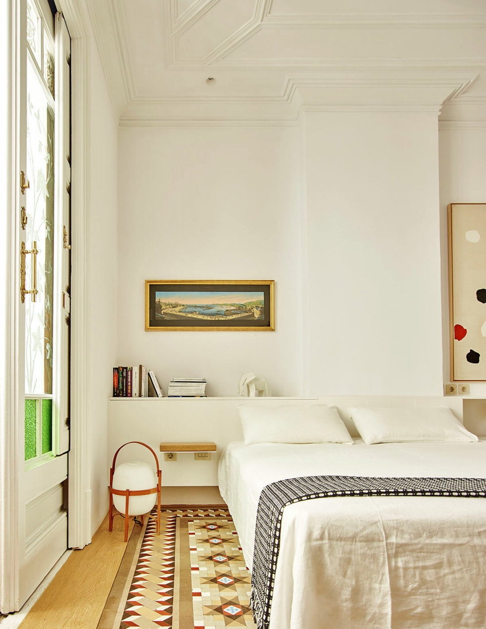 AB House 19th-century Barcelona apartment by Built Architecture 14