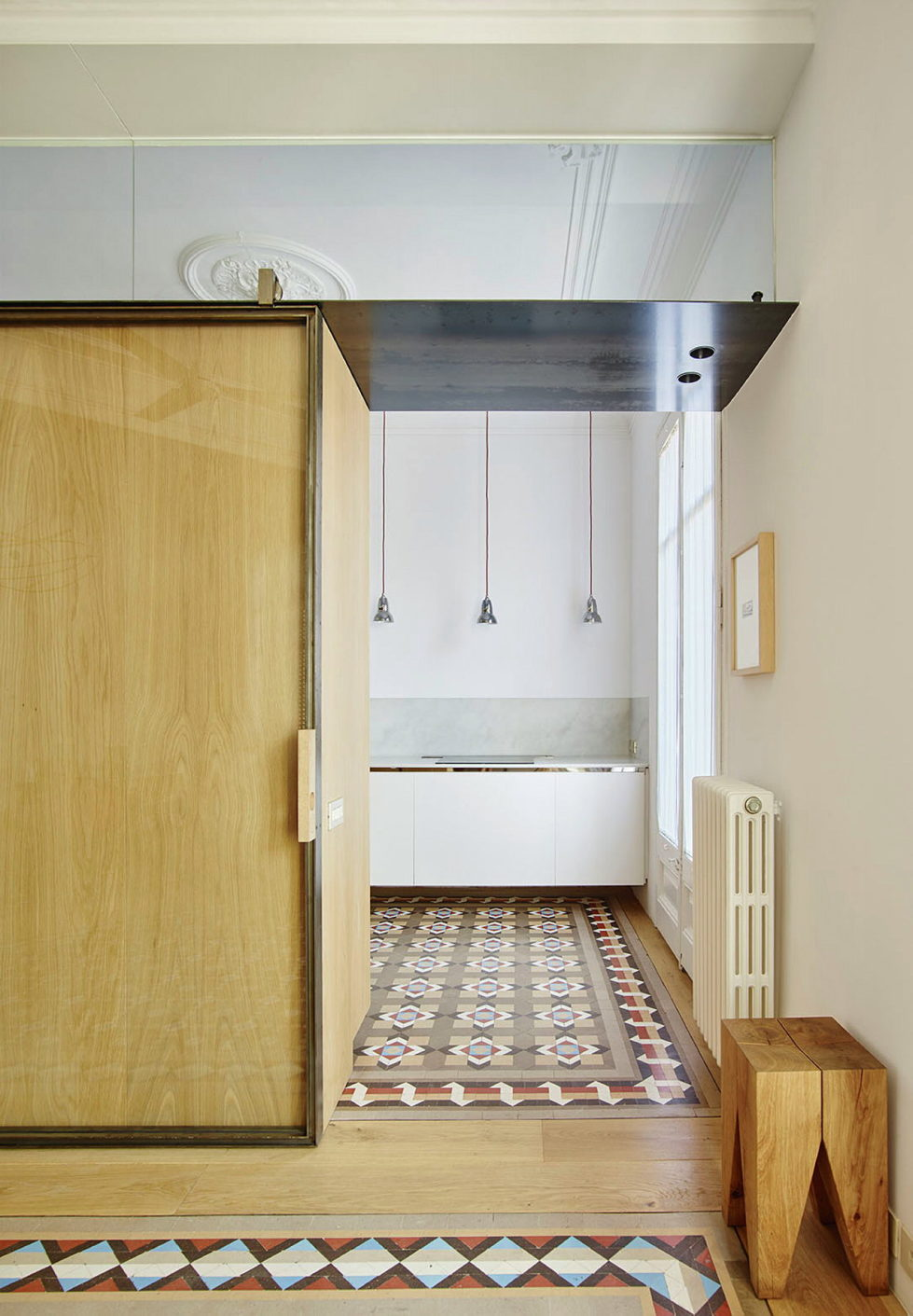 AB House 19th-century Barcelona apartment by Built Architecture 15