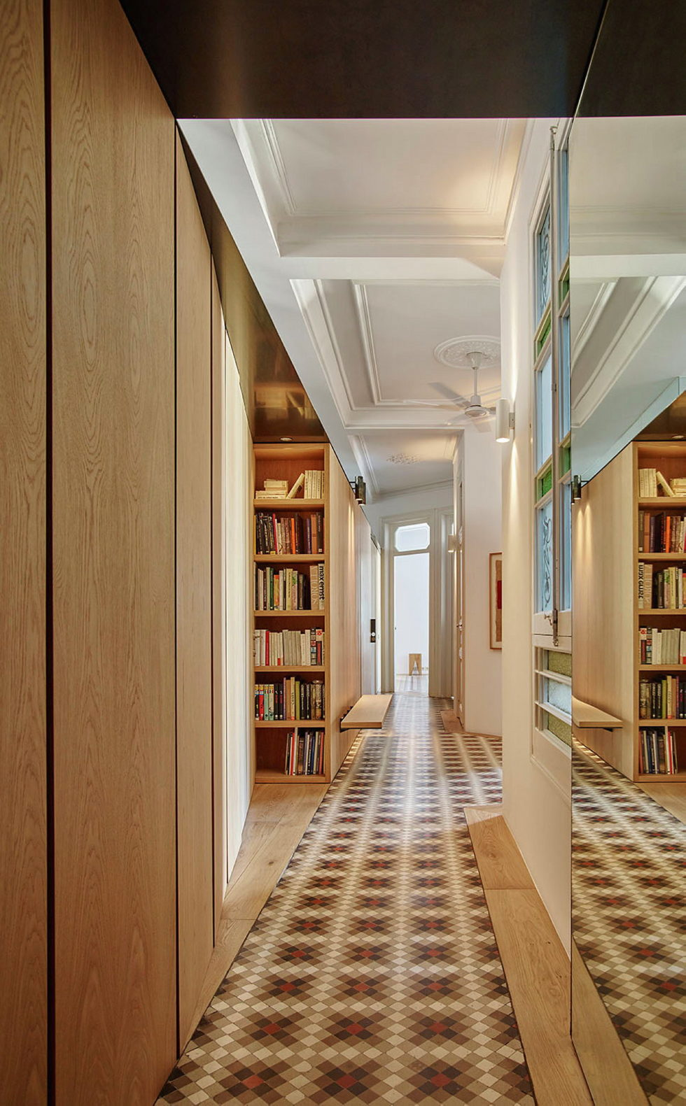 AB House 19th-century Barcelona apartment by Built Architecture 2