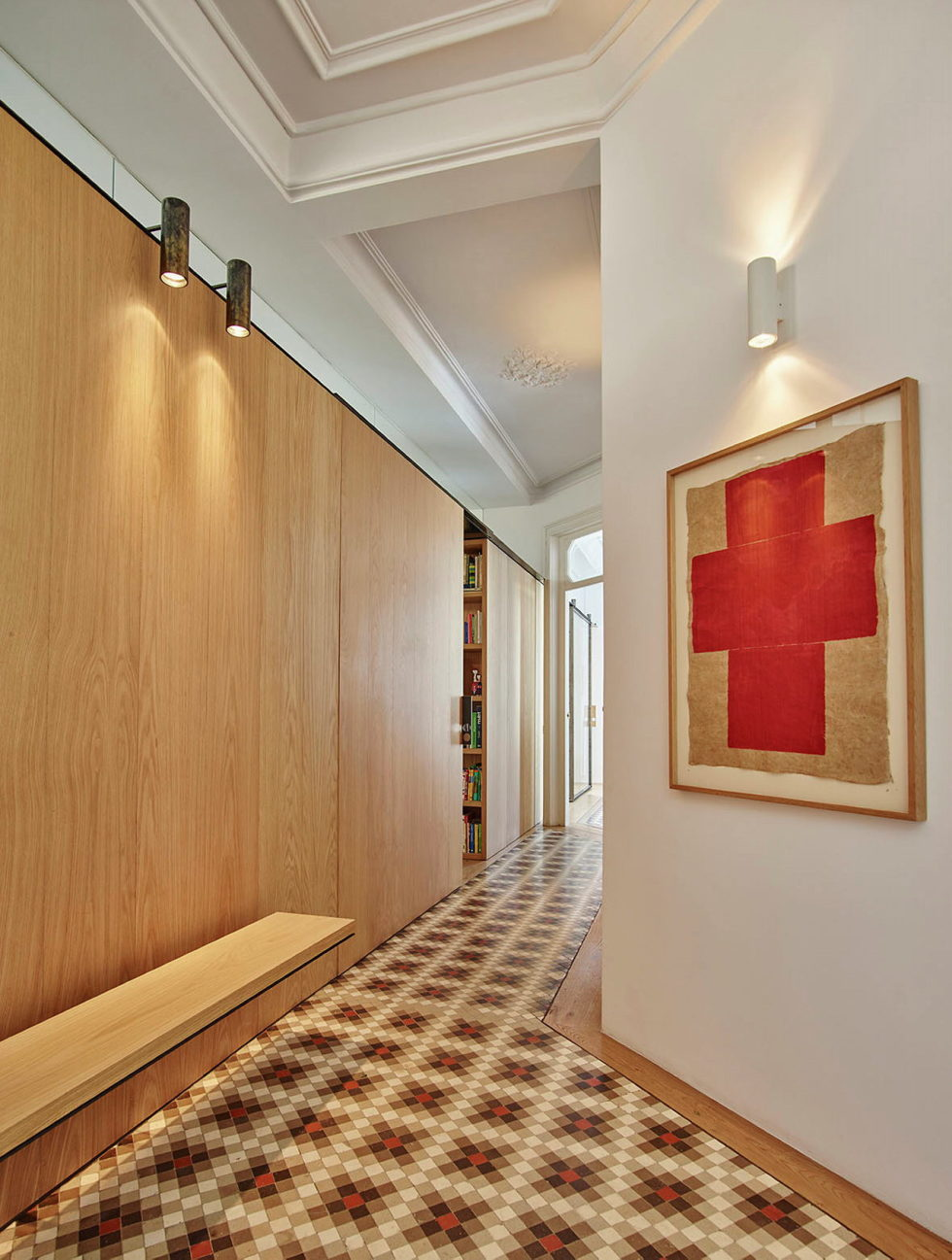AB House 19th-century Barcelona apartment by Built Architecture 3