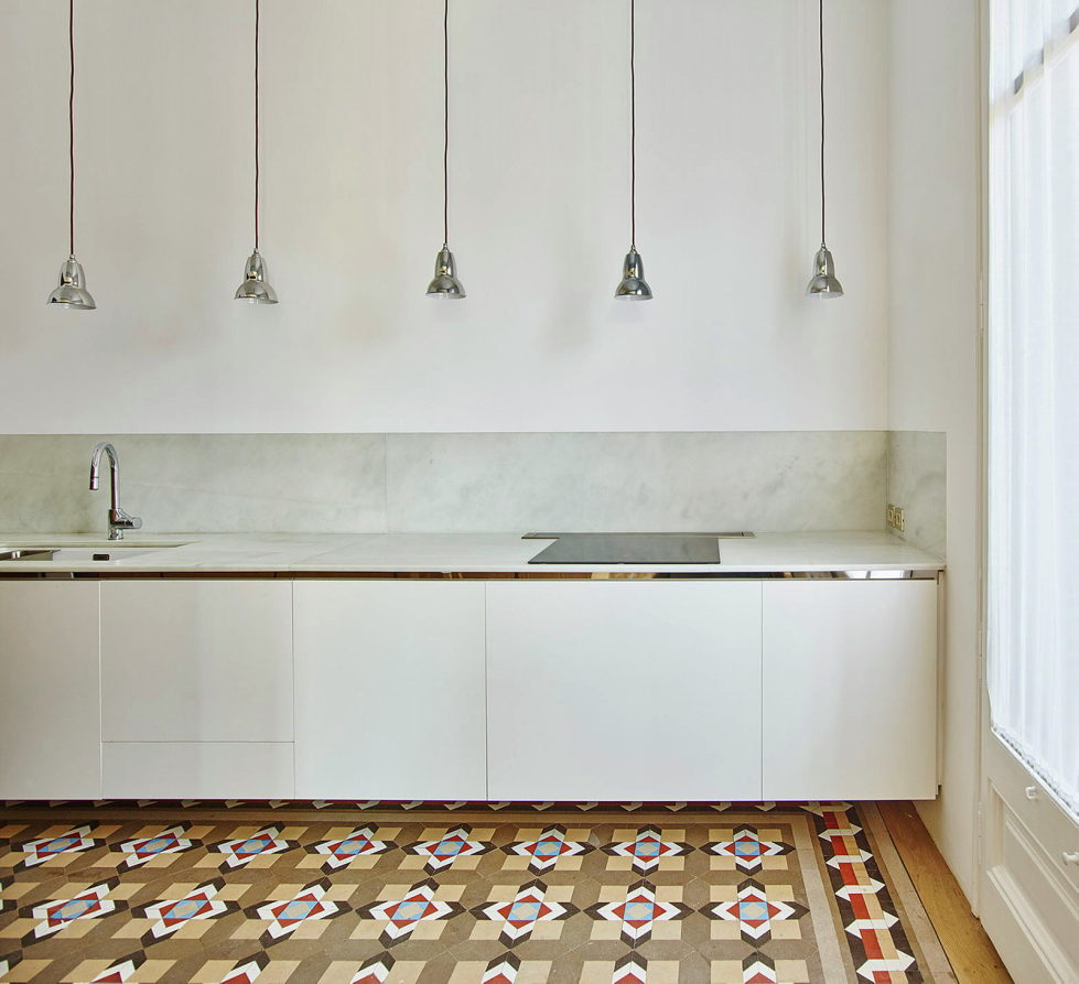 AB House 19th-century Barcelona apartment by Built Architecture 8