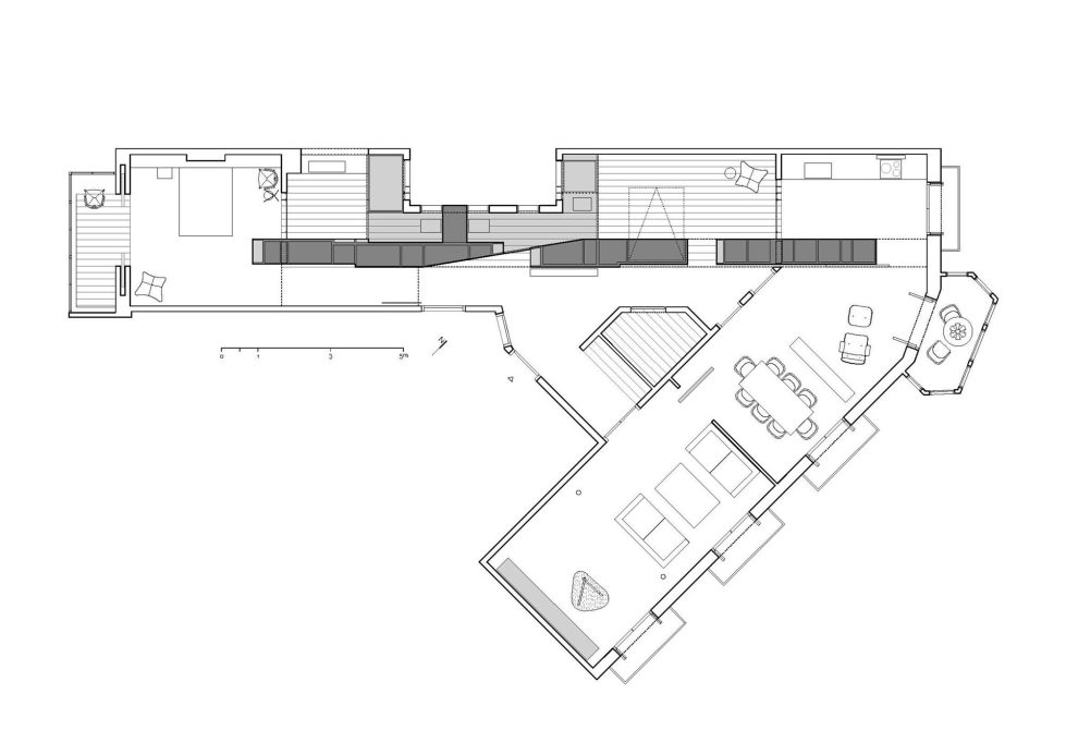 AB House 19th-century Barcelona apartment by Built Architecture – Plan 2
