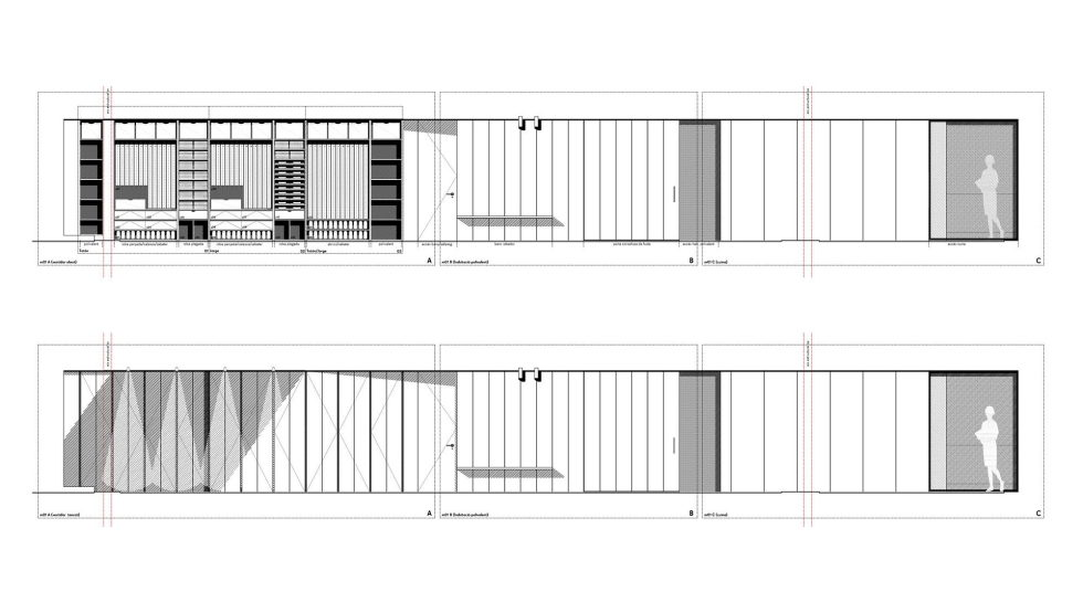 AB House 19th-century Barcelona apartment by Built Architecture – Plan 3