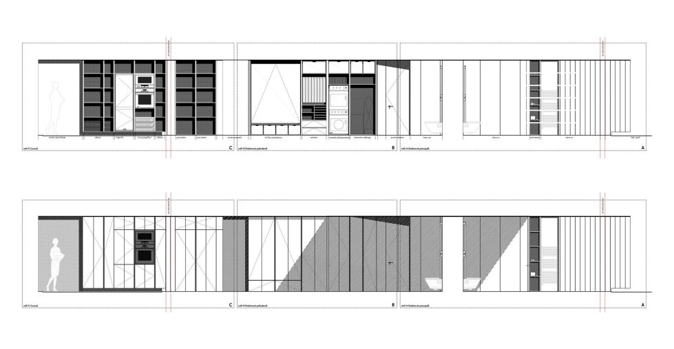 AB House 19th-century Barcelona apartment by Built Architecture – Plan 4