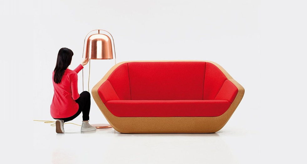Corques Sofa And Arm-Chair From Lucie Koldova 1