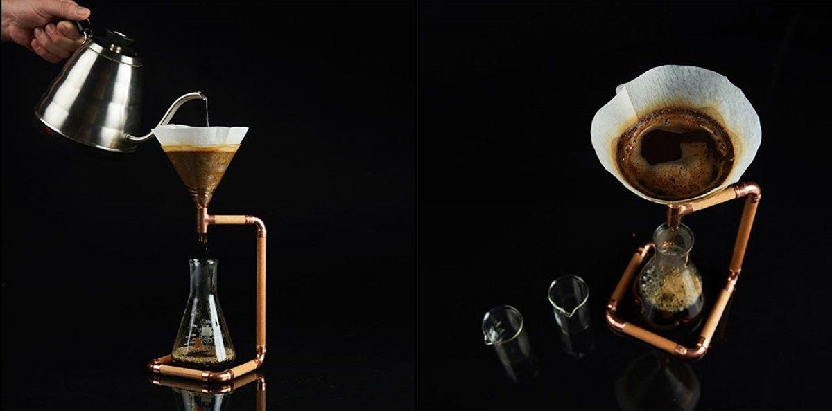 Drip Coffee Maker Design : G-Drip: Rather Unusual Drip Coffee Maker