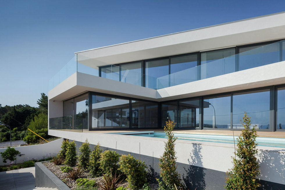 JC House Villa At The Suburb Of Lisbon, Portugal, Upon The Project Of JPS Atelier 10