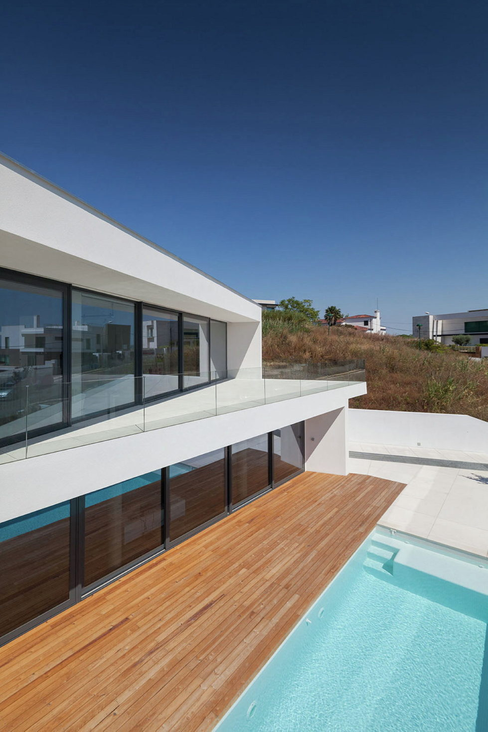 JC House Villa At The Suburb Of Lisbon, Portugal, Upon The Project Of JPS Atelier 11