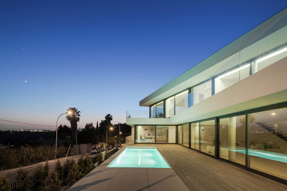 JC House Villa At The Suburb Of Lisbon, Portugal, Upon The Project Of JPS Atelier 22
