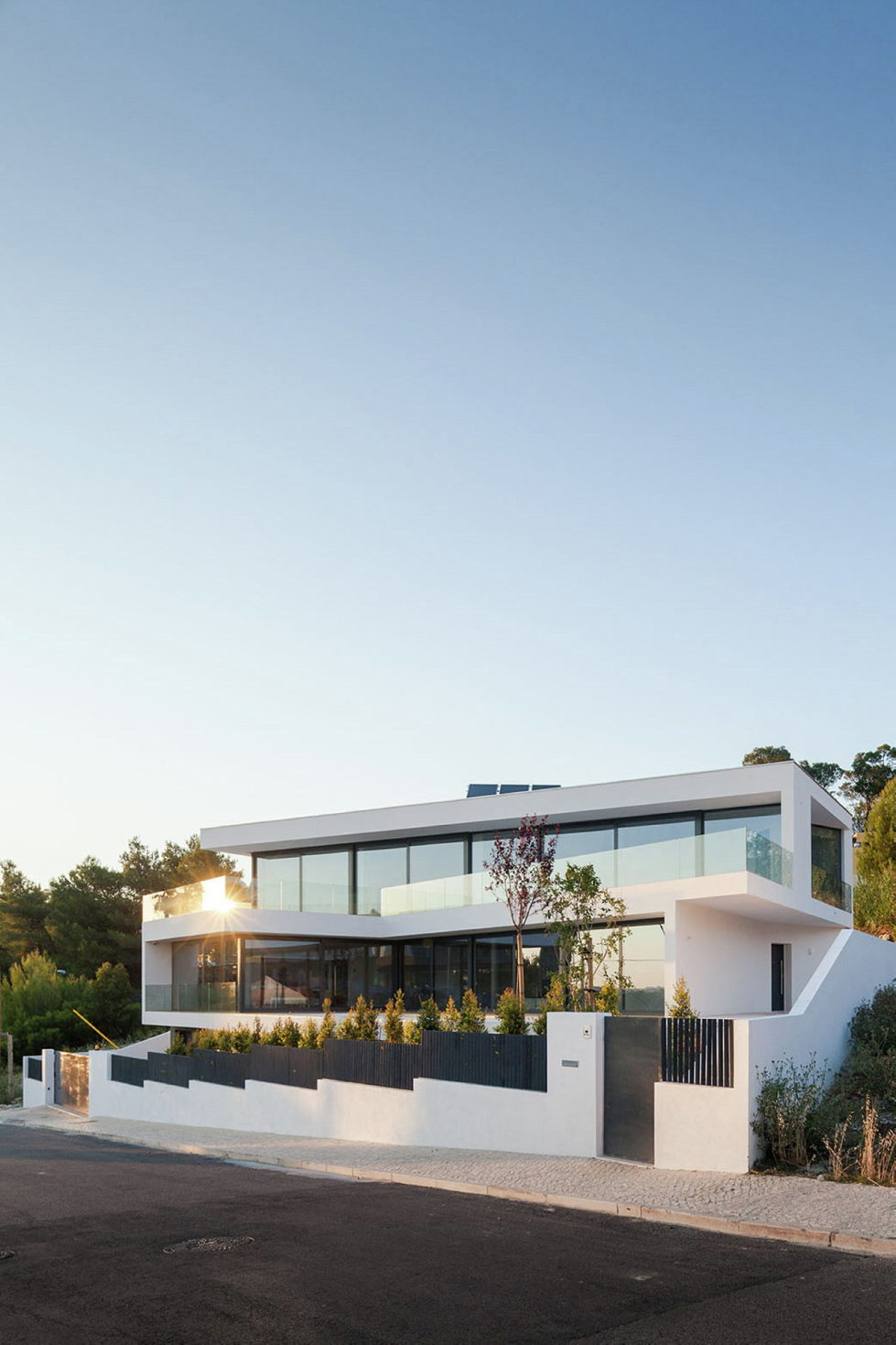 JC House Villa At The Suburb Of Lisbon, Portugal, Upon The Project Of JPS Atelier 24