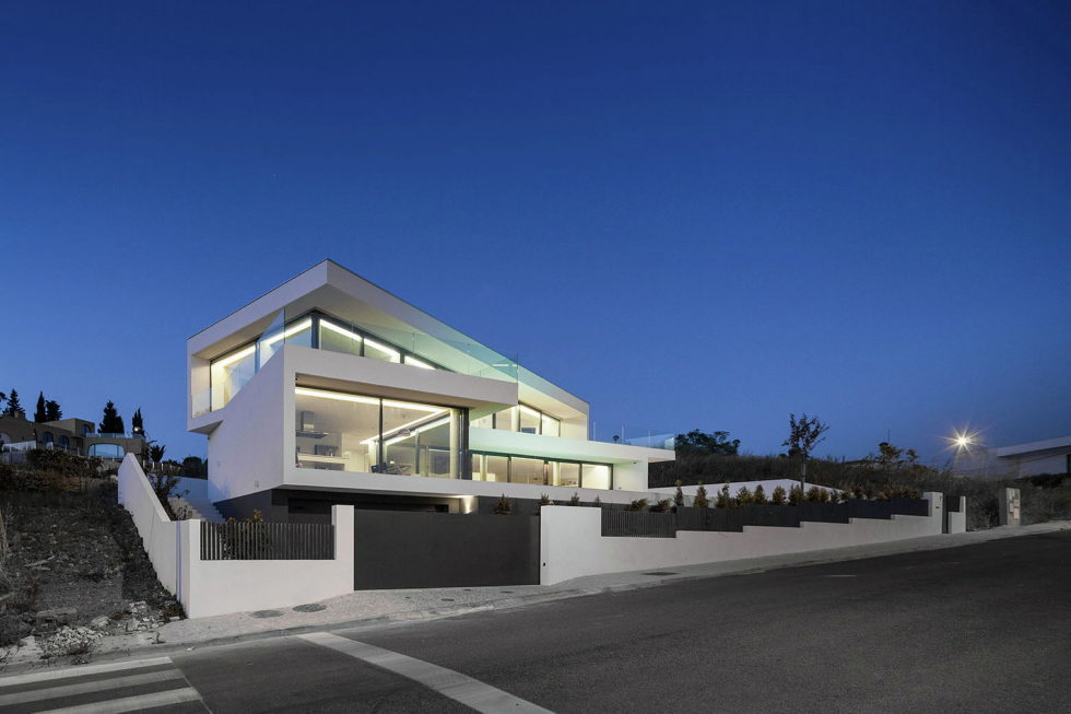 JC House Villa At The Suburb Of Lisbon, Portugal, Upon The Project Of JPS Atelier 27