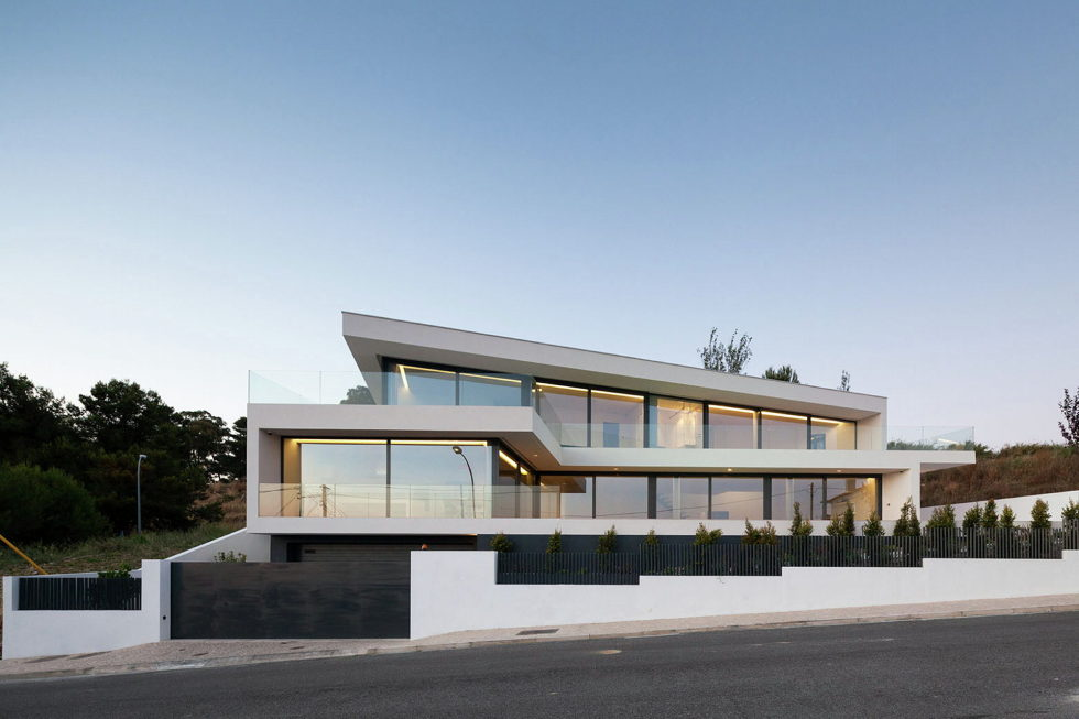 JC House Villa At The Suburb Of Lisbon, Portugal, Upon The Project Of JPS Atelier 3