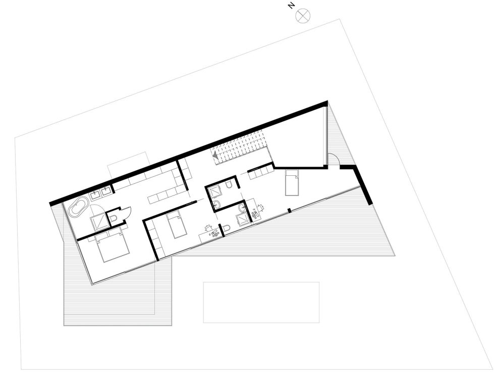 JC House Villa At The Suburb Of Lisbon, Portugal, Upon The Project Of JPS Atelier – Plan 4