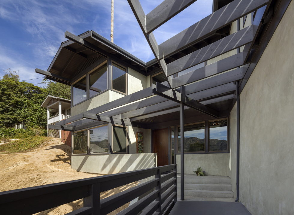 Lopez House The Private Residency In Los Angeles Upon The Project of Martin Fenlon Architecture 4