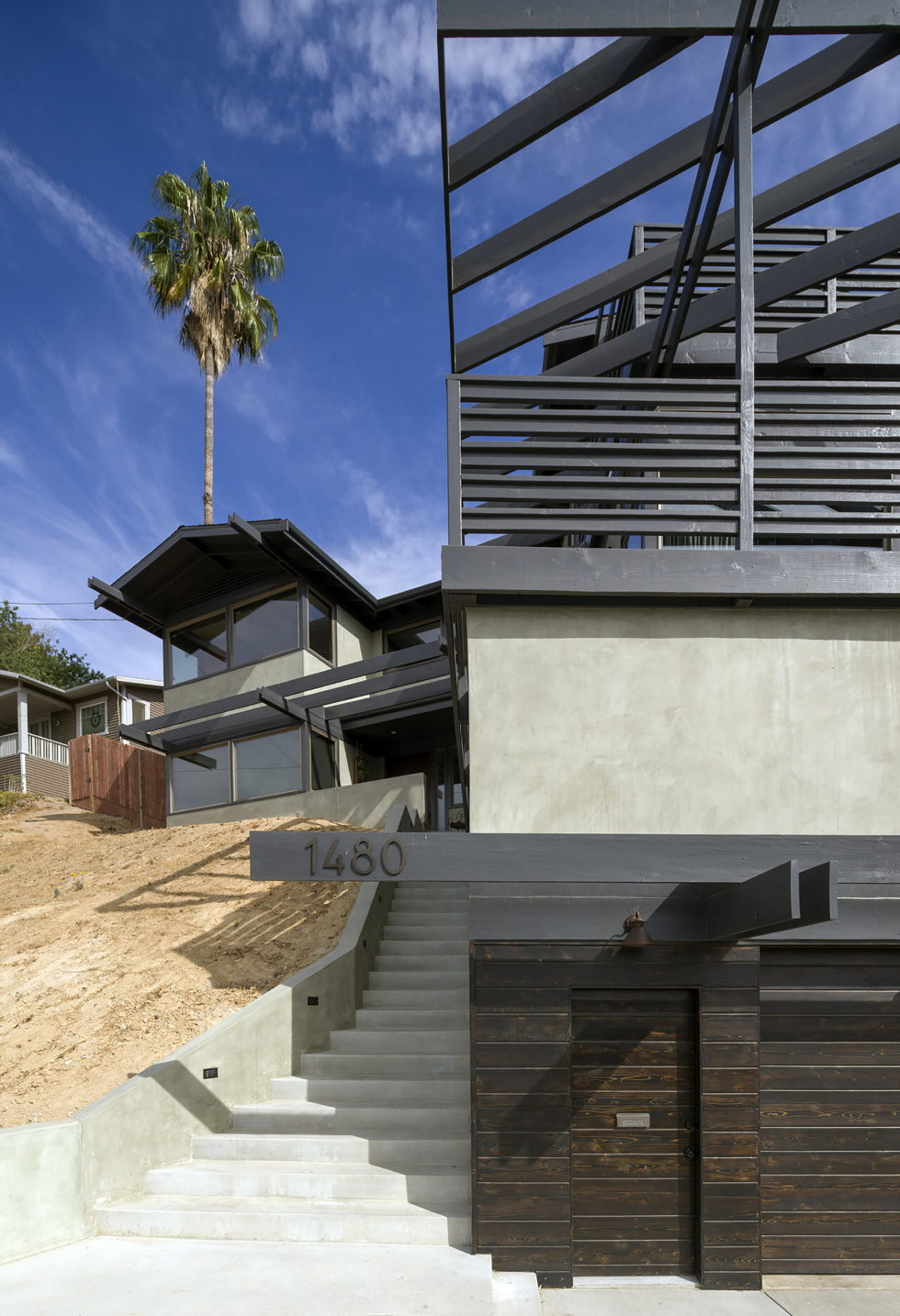 Lopez House The Private Residency In Los Angeles Upon The Project of Martin Fenlon Architecture 5
