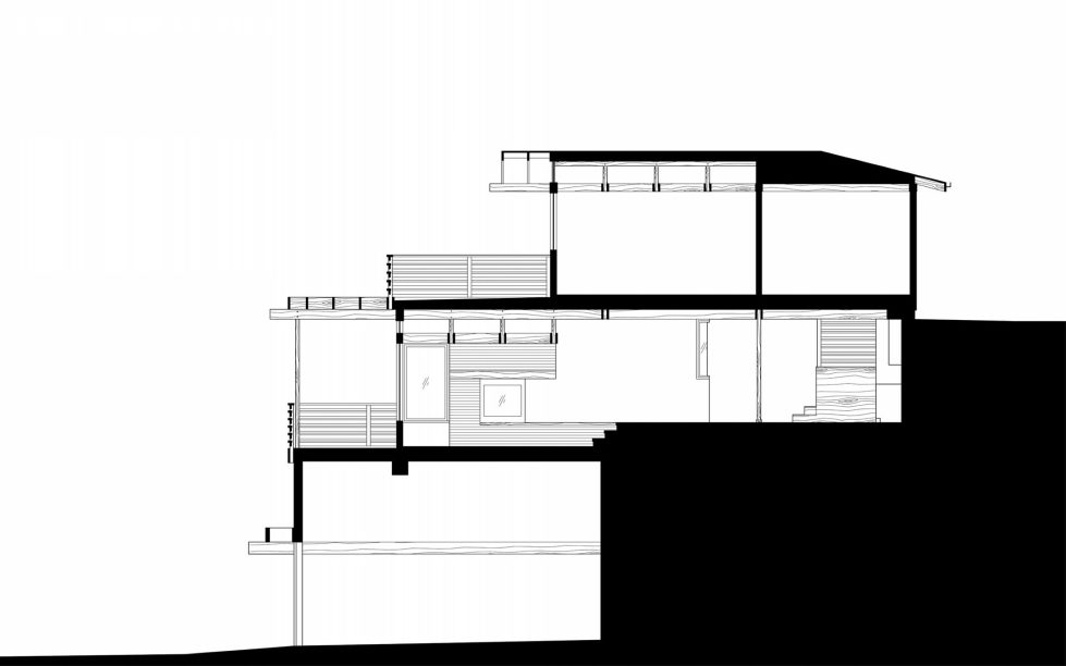 Lopez House The Private Residency In Los Angeles Upon The Project of Martin Fenlon Architecture – Plan 4
