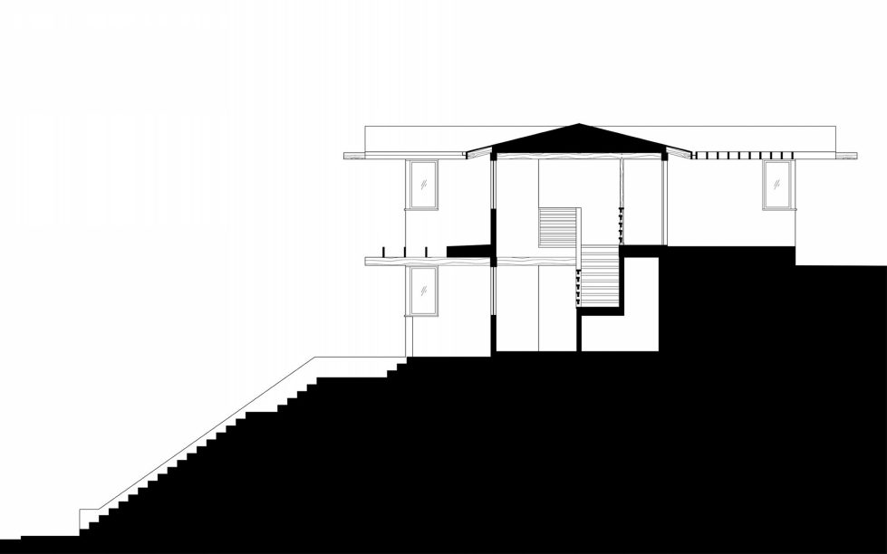 Lopez House The Private Residency In Los Angeles Upon The Project of Martin Fenlon Architecture – Plan 5
