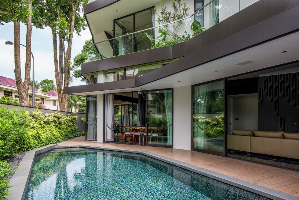 Luxurious Trevose House In Modern Style In Singapore 8