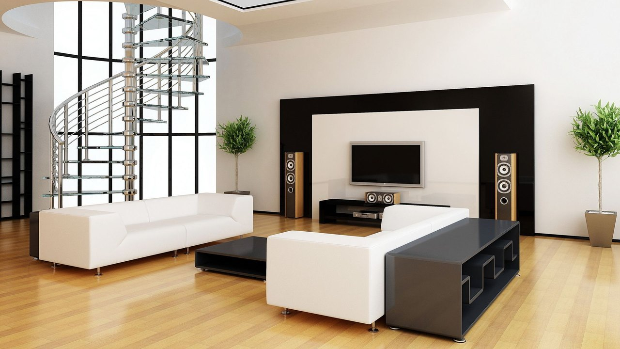 Modern interior design styles for New style living room design