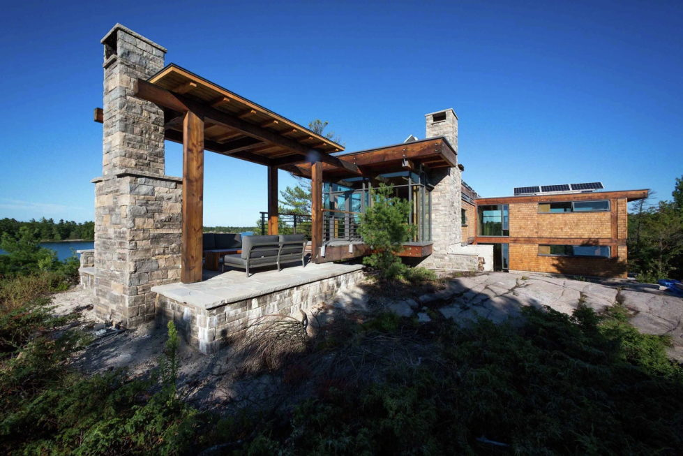Monument Channel Cottage Residency Upon The Project Of CORE Architects 4