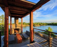 Monument Channel Cottage Residency Upon The Project Of CORE Architects