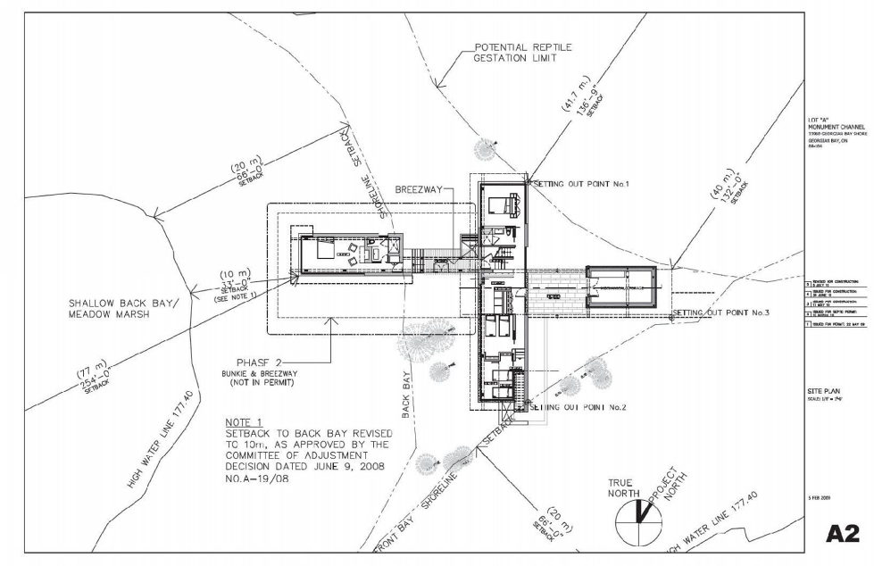 Monument Channel Cottage Residency Upon The Project Of CORE Architects - Plan 1