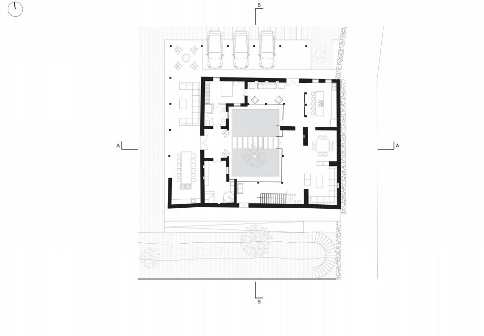 Shape Loma house in Cuenca by architect Ivan Andres Quizhpe – Plan 2
