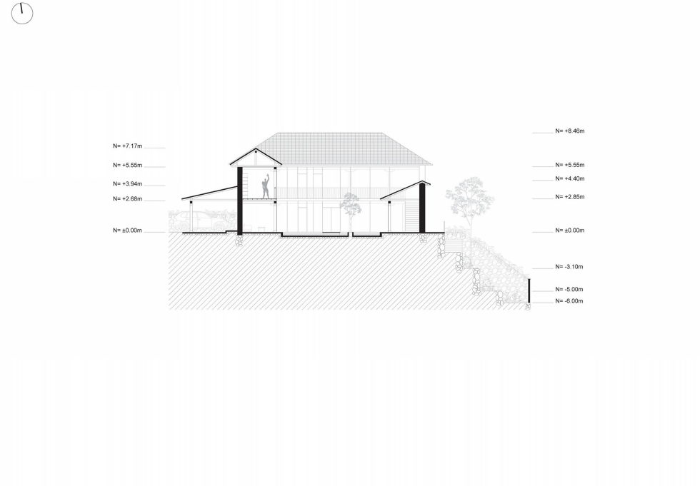 Shape Loma house in Cuenca by architect Ivan Andres Quizhpe – Plan 4