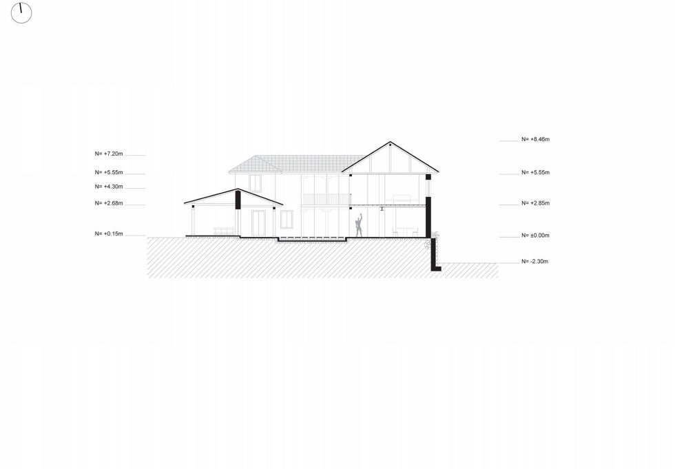 Shape Loma house in Cuenca by architect Ivan Andres Quizhpe – Plan 5