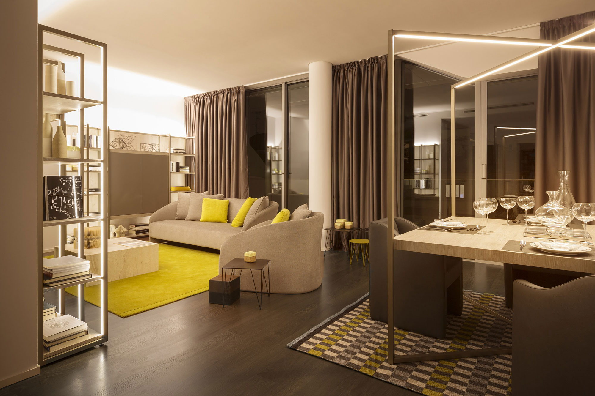 The luxury Citylife apartment from Matteo Nunziati, Milan ...