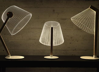 The new version of the Bulbing lamp with D effect by Nir Chehanowski