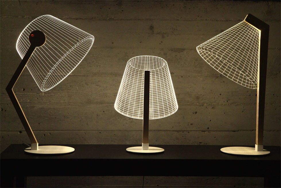 The new version of the Bulbing lamp with 3D-effect by Nir Chehanowski 1